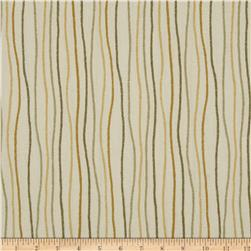 Magnolia Home Fashions Streamers Stripe Sand Fabric