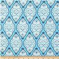 Dena Designs Home Décor Sunshine Medallion Aqua