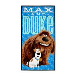 Secret Life Of Pets Max & Duke 24 In. Panel Blue
