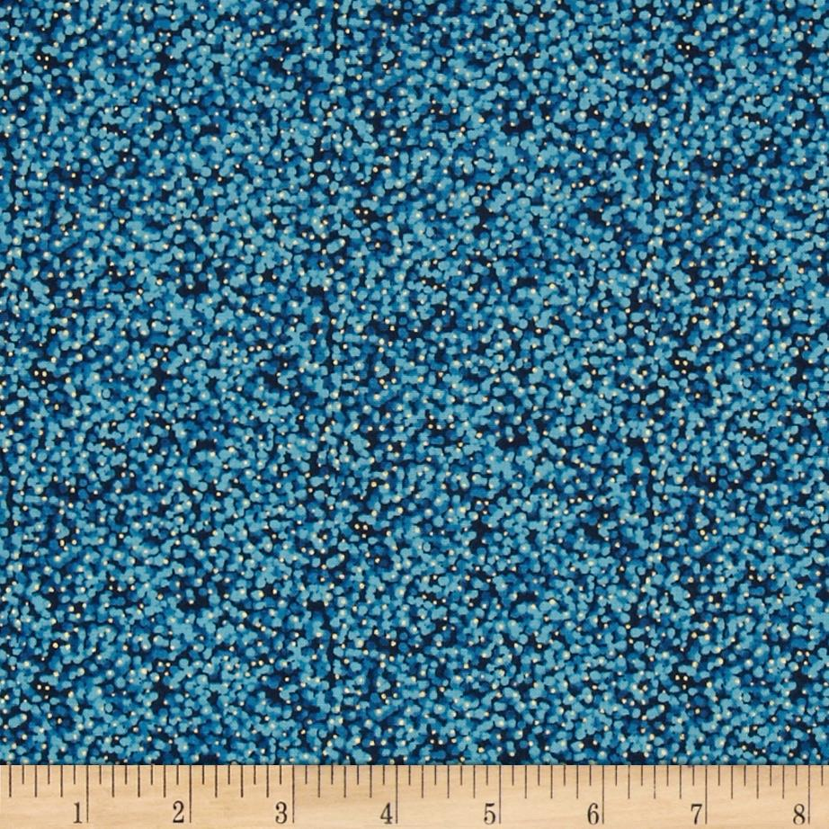 Aurelia Dotty Texture Metallic Blue