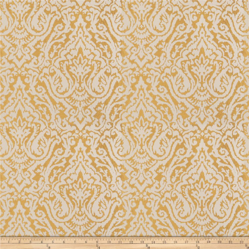 Fabricut doctrine jacquard gold discount designer fabric for Jacquard fabric