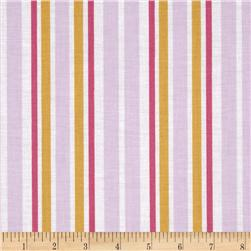 House Collection Ice Cream Stripe Lilac