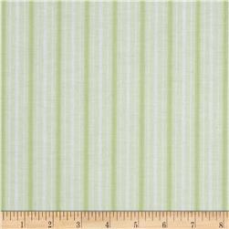 Treasures by Shabby Chic Ballet Rose Stripe Green