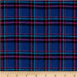 Windstar Flannel Plaid Royal/Purple