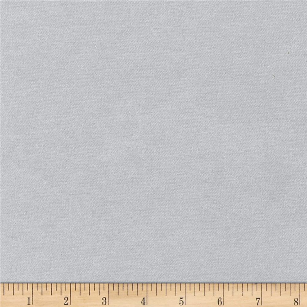 Radiance Cotton/Silk Poplin Silver