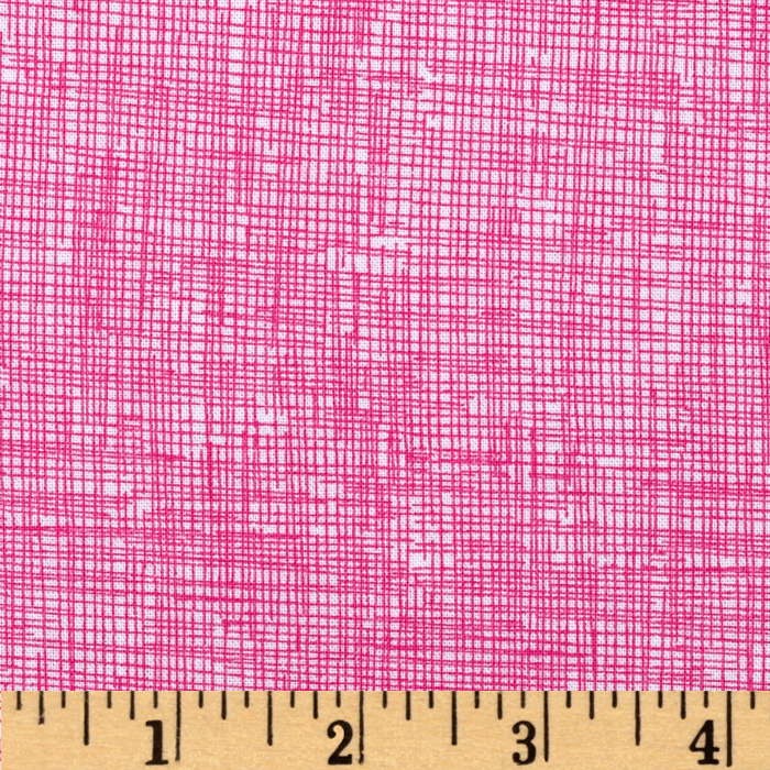 Timeless Treasures Sketch Candy Pink Fabric
