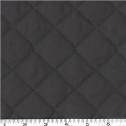 Double-Sided Quilted Broadcloth Black Fabric