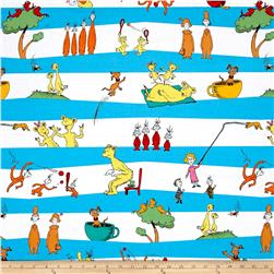 Kaufman Dr Seuss Hop On Pop Stripe Bright