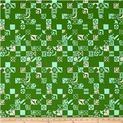 Cotton & Steel Clover Dance Floor Shamrock