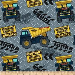 Hasbro Tonka Trucks Diamond Plate Toss Multi Fabric