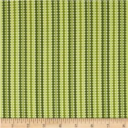 Moda Meadowbloom Dotty Stripe Sprout