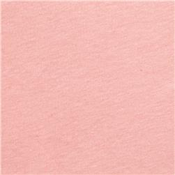 Cotton Spandex Jersey Knit Solid Pale Pink