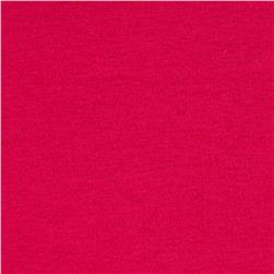 Cotton Spandex Knit Solid Magenta