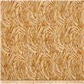 Timeless Treasures Batik Tonga Chai Stems Cream