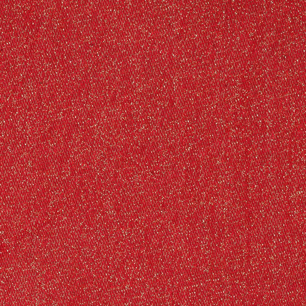 Stretch sparkle nylon mesh knit red discount designer for Sparkly material