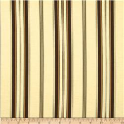 Berkley Square Wide Stripe Ecru