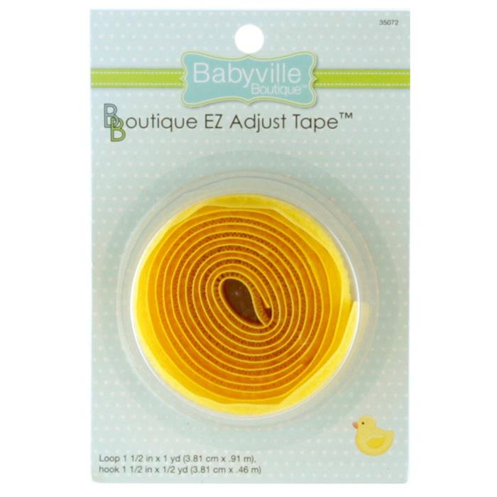 Babyville Boutique EZ Adjust Tape Yellow