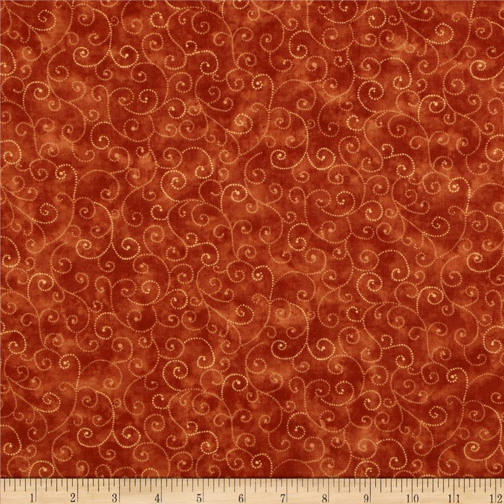 Quilting fabric blenders oranges discount designer for Quilting material