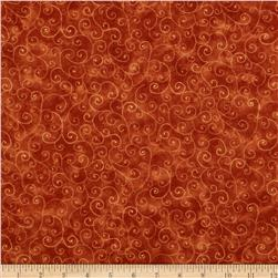 Moda Marble Swirls Burnt Orange