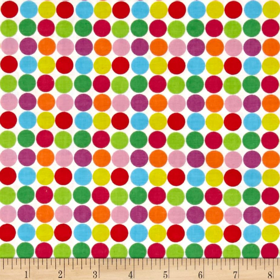 Modern Christmas Dots Multi
