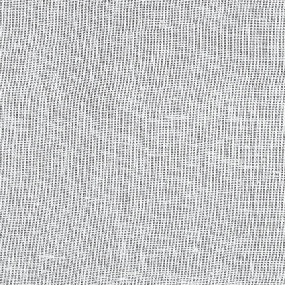 Braemore Dune Woven Linen Sheer Winter White Fabric By The Yard