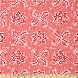 Moda Fancy Twirl Winterberry Pink