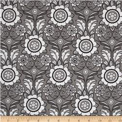 Riley Blake Parisian Scroll Gray