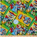 DC Comics Comic Book Covers Green