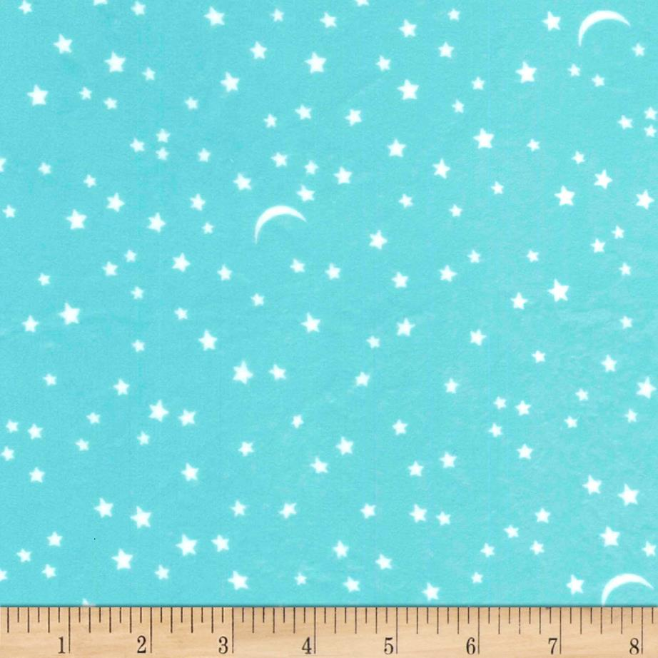 Michael Miller Minky Puddle Play Starry Too Luna