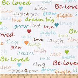 Giggle & Grow Text White