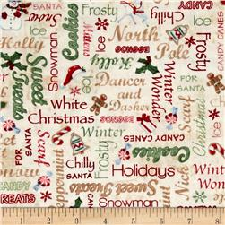 Home For The Holidays Words Multi