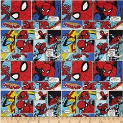 Marvel Comics Spider Man Red/Blue/Black