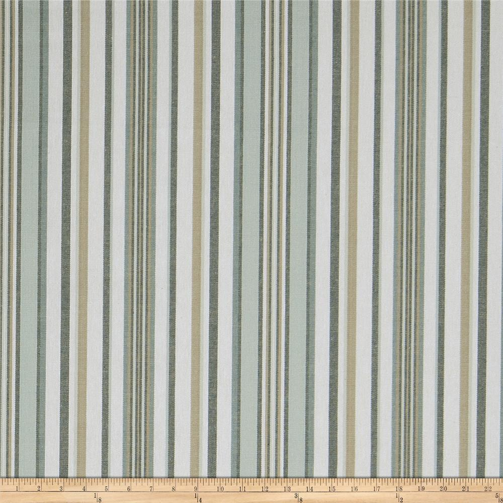 Fabricut Spilanthes Stripe Mariner
