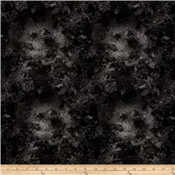 "108"" Wide Essentials Quilt Back Cosmos Charcoal"