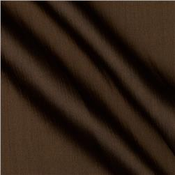 Satin Faced Crinkle Sheer Chocolate