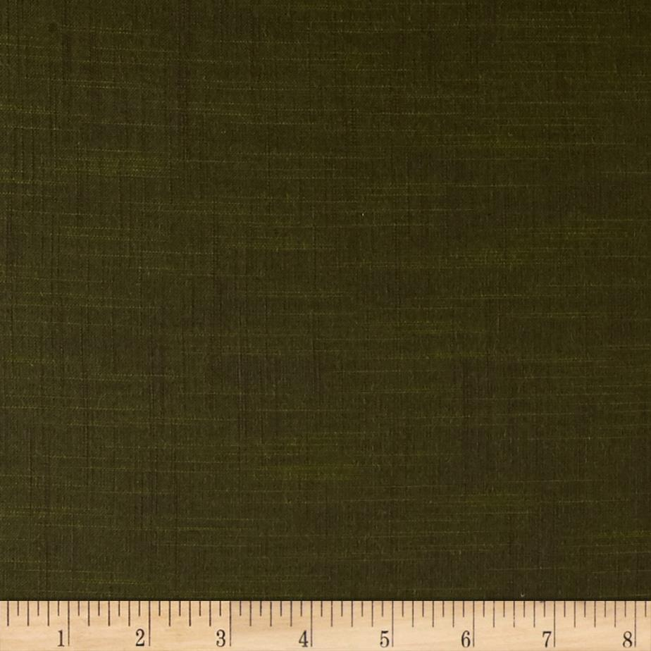 Kaufman Manchester Textured Yarn Dye Solid Shirting Moss