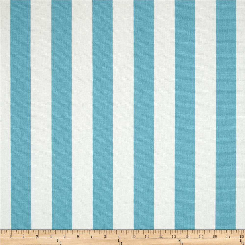 Premier Prints Canopy Stripe Coastal Blue
