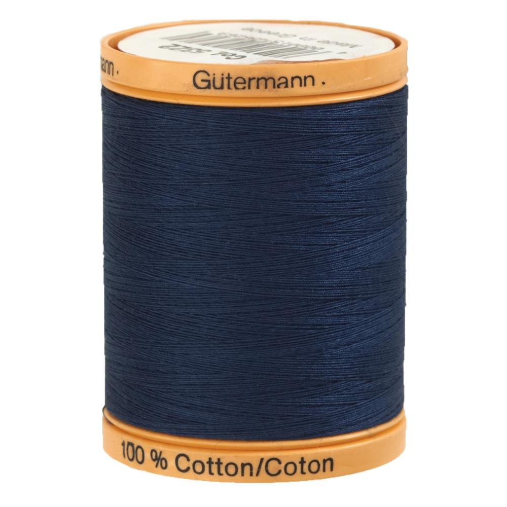 Gutermann Natural Cotton Thread 800m/875yds Navy
