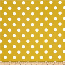 Moda Dottie Medium Dots Maize