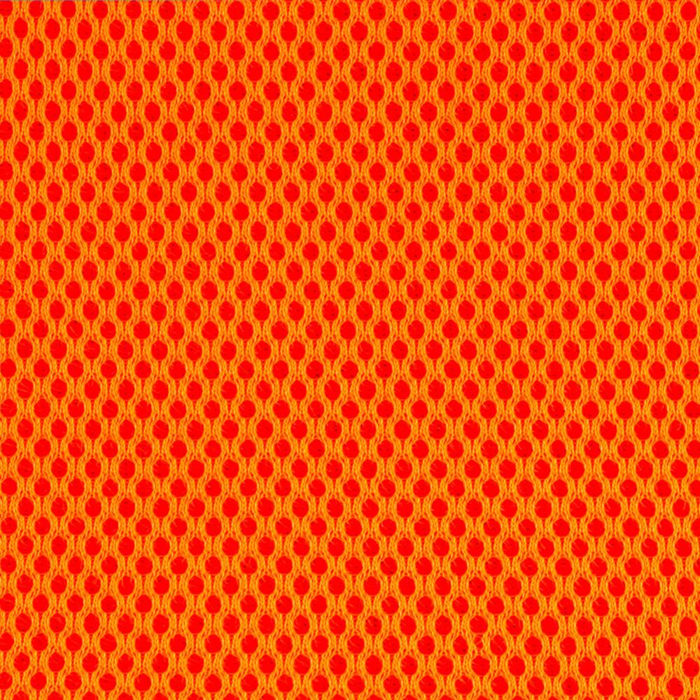 Spacer Mesh Flame Orange Discount Designer Fabric