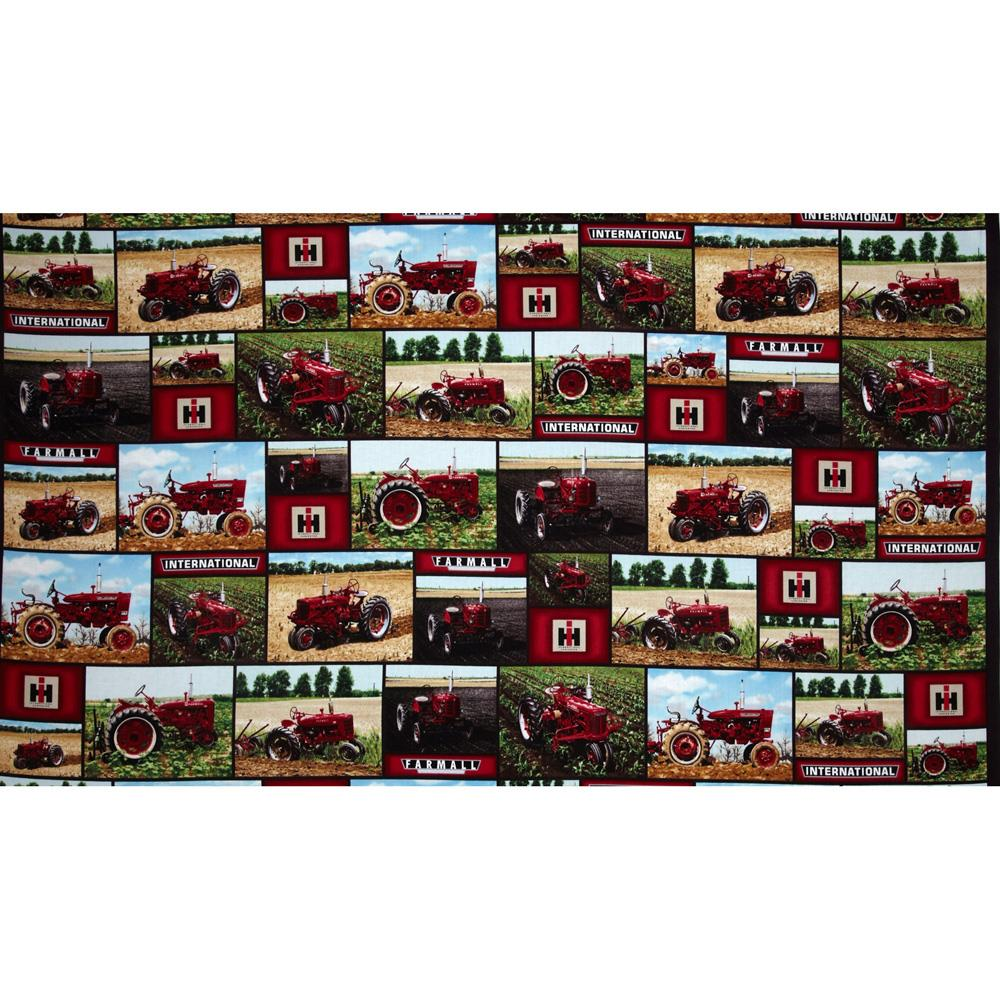 International Harvester Big Red Scenic Patches Red/Green