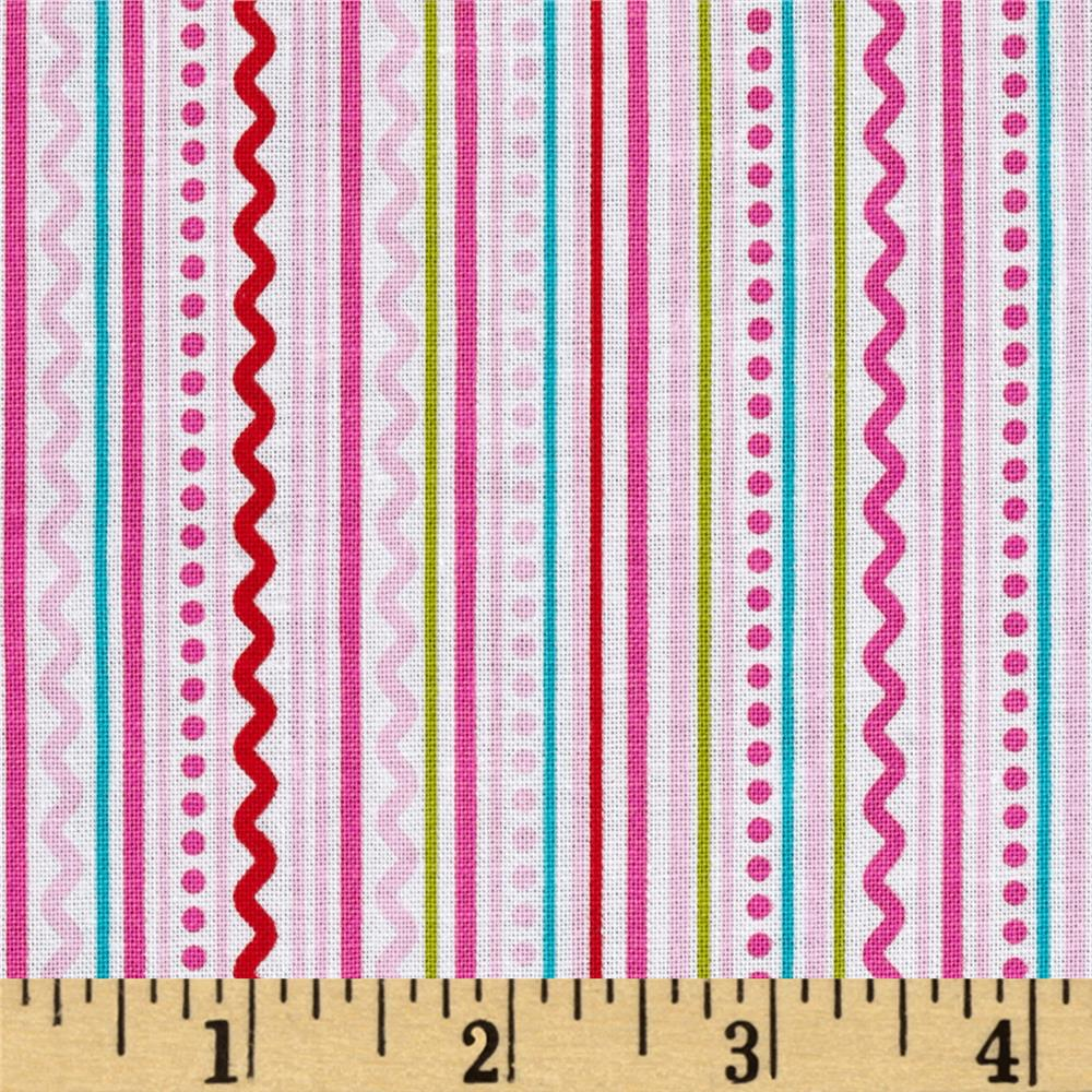 Riley Blake Summer Breeze Stripe Pink