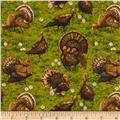 Golden Harvest Metallic Turkeys Multi