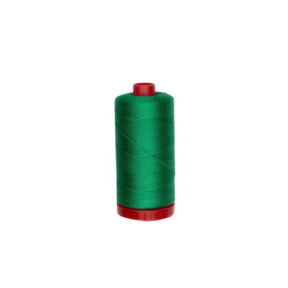 Aurifil 12wt Embellishment and Sashiko Dreams Thread Green