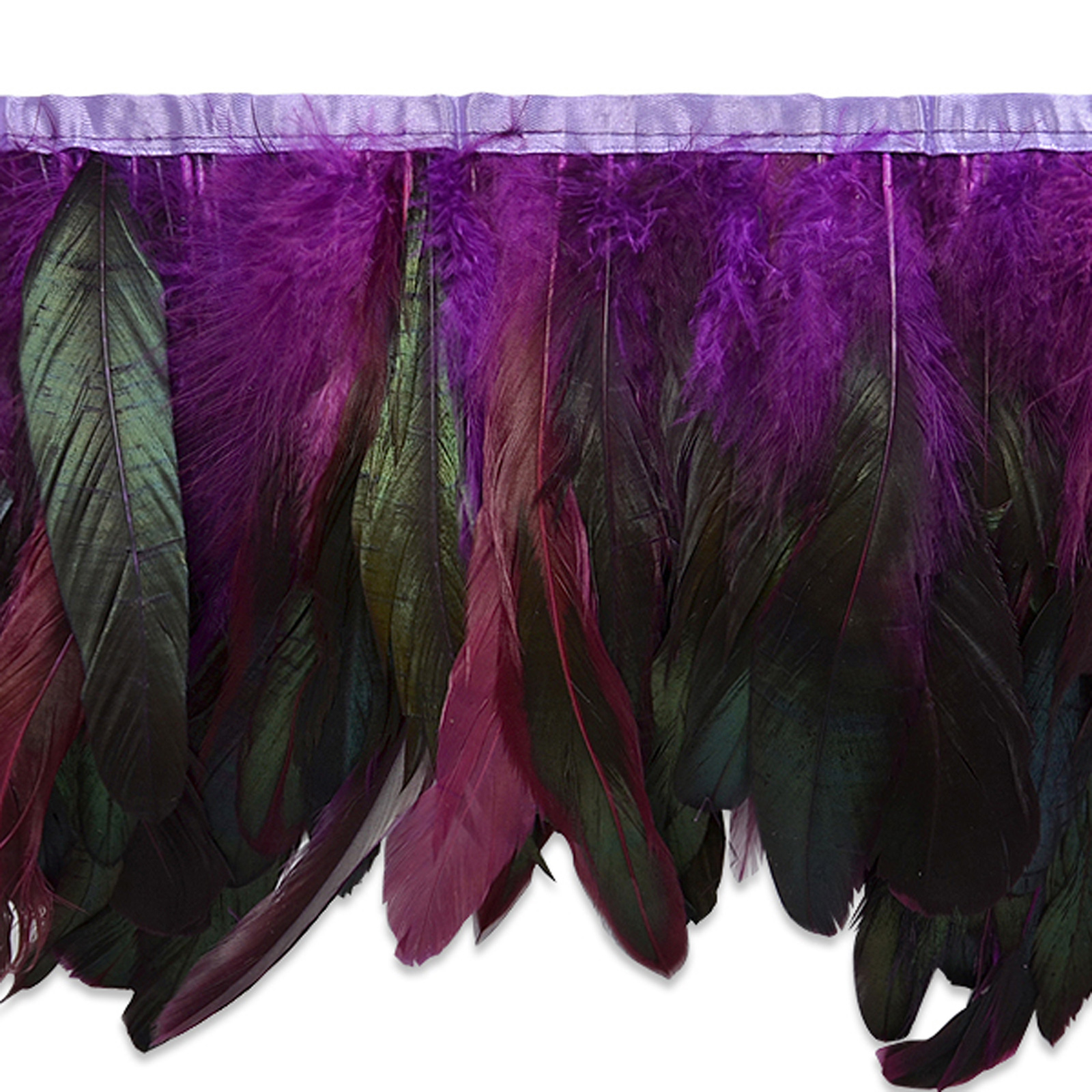 6'' Fionna Feather Trim Purple by Expo in USA