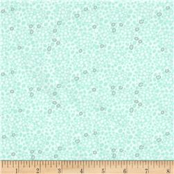 Art Gallery Drift Sea Foam Green Fabric