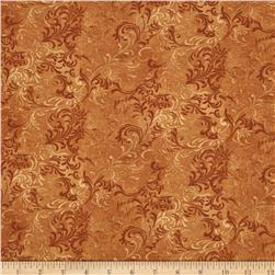 Essentials Embellishment Golden Brown Fabric