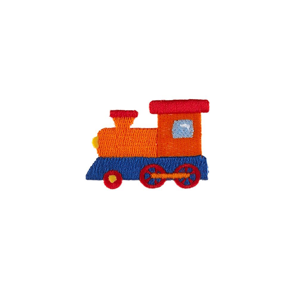 Train Applique Orange