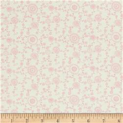 A Bundle of Pink Floral Vine Light Pink