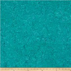 Batavian Batiks Rippled Reflections Turquoise